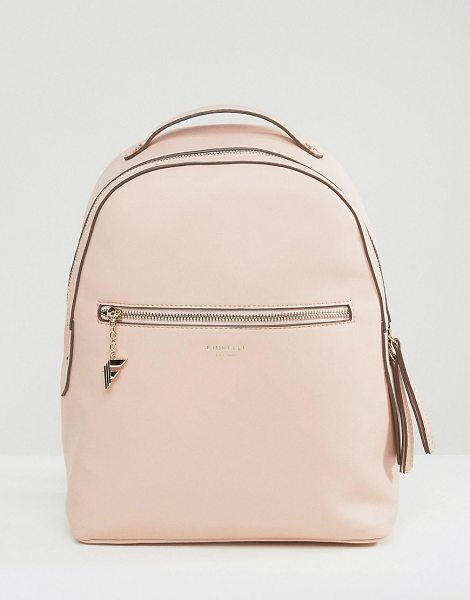 Fiorelli Large Anouk Backpack in Blush in pink - Backpack by Fiorelli, Faux-leather outer, Branded...
