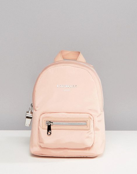 Fiorelli Sport Strike Mini Nylon Backpack in Blush in powderblush