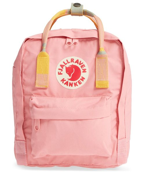 Fjallraven mini kanken backpack in pink- random blocked - Designed with the environment in mind, this sized-down...