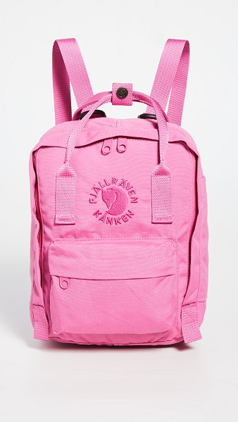Fjallraven re-kanken mini bag in pink rose