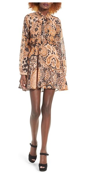 FOR LOVE & LEMONS elodi minidress - Make a retro entrance in this flattering minidress...