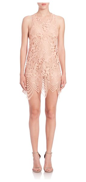 FOR LOVE & LEMONS Summer lilly sheer mini dress - This thigh-skimming racerback dress is rendered in sheer...