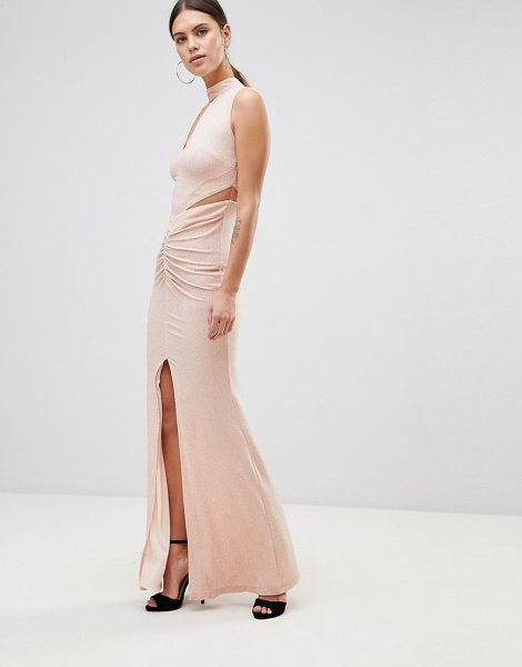 Forever Unique Choker Detail Maxi Dress in softpink - Maxi dress by Forever Unique, Take that dress code up a...