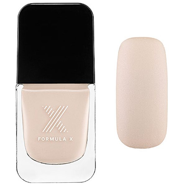 Formula X the brushed metallics wonderment - A first-of-its-kind, matte metallic lacquer infused with...