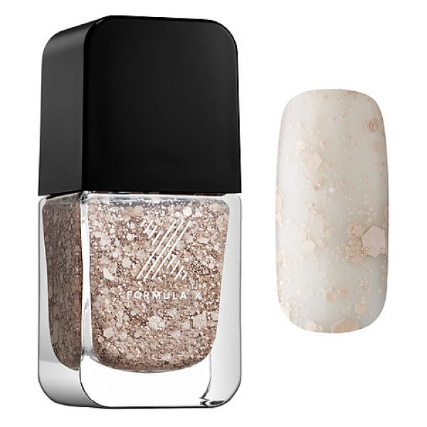 Formula X transformers top coats down to earth - An innovative top coat for layering over any nail color,...