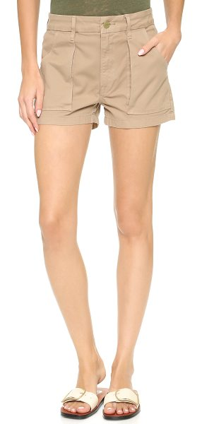 Frame Citadel shorts in khaki - Timeless FRAME shorts with a utilitarian look. 4...
