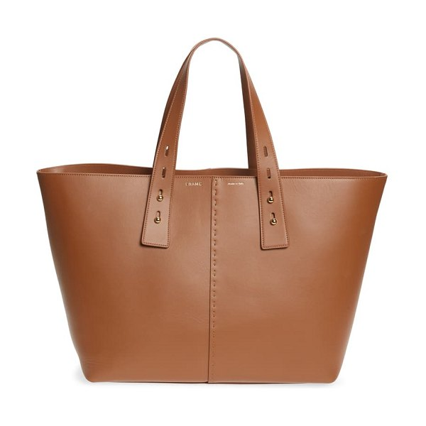Frame les second large tote in brown