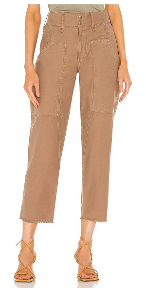 Frame twisted utility pant in washed desert