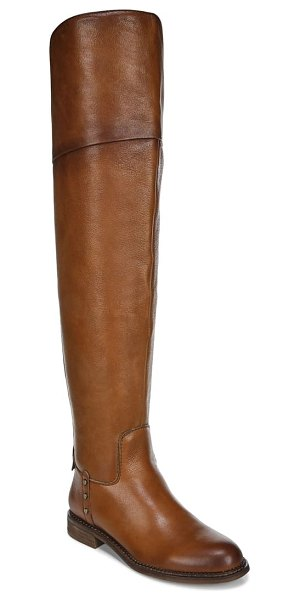 Franco Sarto haleen over the knee boot in brown