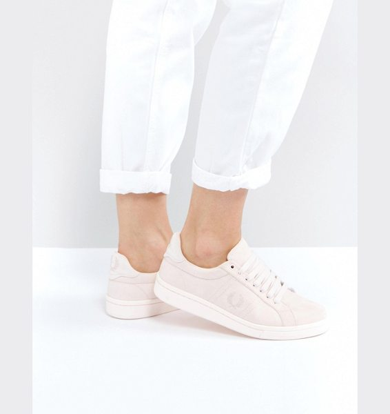 Fred Perry B721 Brushed Cotton in pink - Sneakers by Fred Perry, Brushed cotton upper, Lace-up...