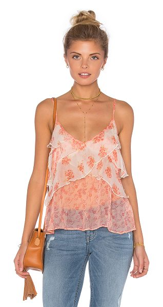 Free People All Things Tank in coral - Self: 100% viscoseLining: 100% rayon. Adjustable...