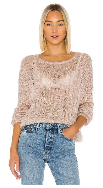 Free People angel soft pullover in neutral