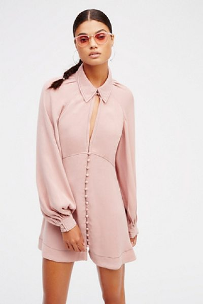 Free People Babetown mini in pink dust