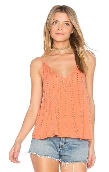 Free People BB Embellished Cami in pink - It was meant to be. You'll find your shining soul mate...