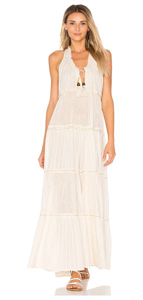 "Free People Beach Bum Jumpsuit in cream - ""Make the best of those carefree off-duty days in the..."