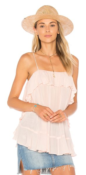 FREE PEOPLE Cascades Cami - Created to catch the wind in a whimsical fashion, Free...