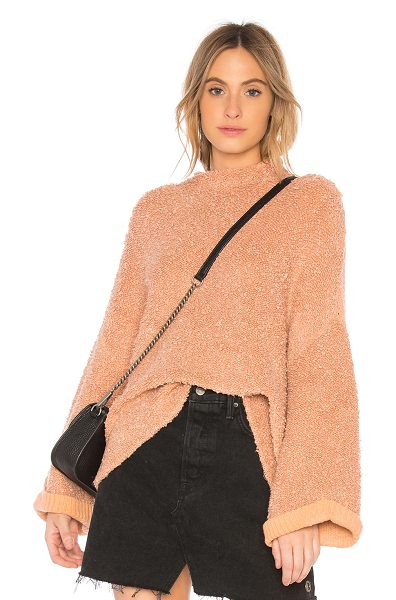 FREE PEOPLE Cuddle Up Pullover Sweater - 69% cotton 28% acrylic 2% nylon 1% elastaneContrast: 100%...