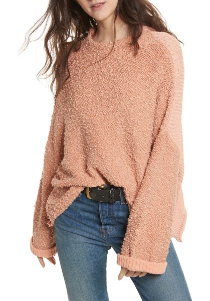 FREE PEOPLE cuddle up pullover - This slouchy and plush pullover is ideal is ideal for...