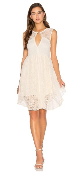 Free People Don't You Dare Dress in neutral combo - Shell 1: 50% cotton 50% nylonShell 2: 54% rayon 40%...
