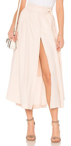 "FREE PEOPLE Dream of Me Midi Skirt - ""Self: 100% cottonLining: 100% rayon. Partially lined...."