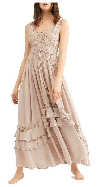 Free People endless summer by  santa maria maxi dress in beige