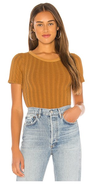 Free People escape tee in neutral