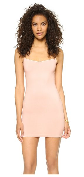 Free People Seamless Mini Slip in soft pink - A slim, comfortable Free People slip dress in soft...