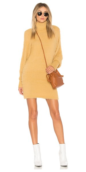 FREE PEOPLE Honey Mini Sweater Dress - 80% nylon 20% acrylic. Hand wash cold. Unlined. Eyelash...