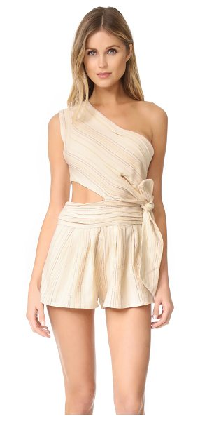 Free People hot chip romper in neutral combo - NOTE: Runs true to size. A flirty Free People...