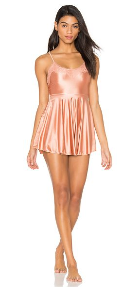 Free People Iris Dance Dress in peach - Shell: 72% polyamide 28% spandexLining: 94% poly 6%...