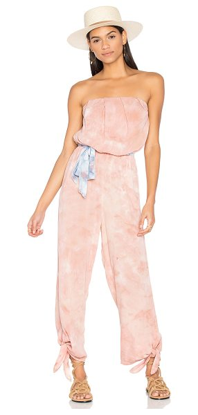 "Free People Just Float One Piece in blush - ""100% rayon. Hand wash cold. Non-slip interior silicone..."