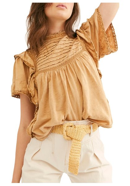 Free People le femme top in beige