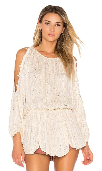 Free People Little Shine Tunic in cream - All you need is a Little Shine. This gauzy Free People...