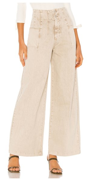 Free People midnight city wide leg jean. - size 24 (also in neutral