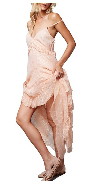 Free People midnight rendezvous maxi dress in pink - You've got places to go and people to meet-might as well...