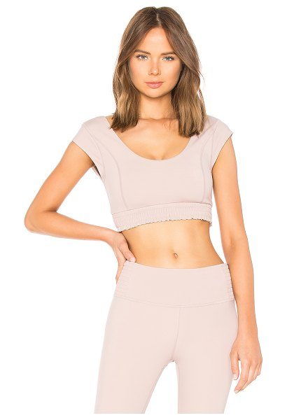 Free People Movement Starlight Crop Top in mauve