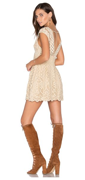 Free People One Million Lovers Dress in beige - Self: 60% nylon 40% cottonLining: 100% rayon. Hand wash...