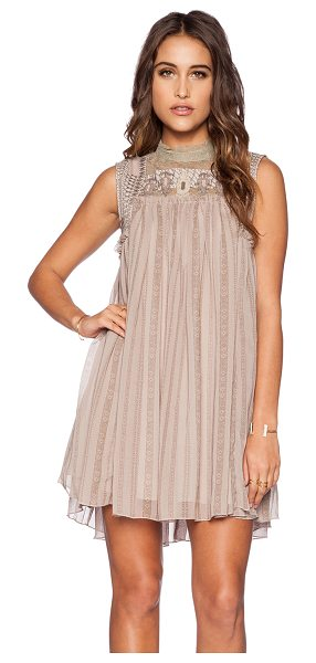 FREE PEOPLE Penny georgette babylon dress - Self: 100% polyContrast: 100% nylon. Hand wash cold....