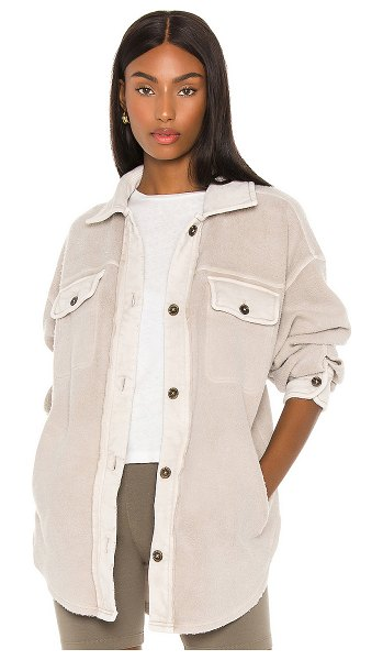Free People ruby jacket in stone
