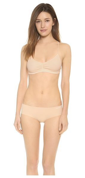 Free People Seamless strappy back bra in nude blush