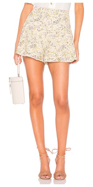 Free People shallow waters short in neutral combo
