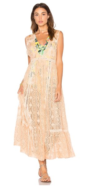 Free People Shine On Midi in peach - Nothing can stop your sparkle in the Shine On Midi from...