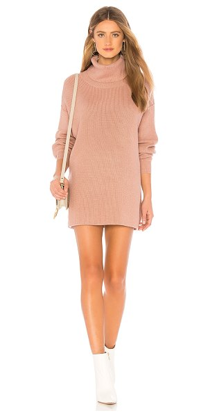 Free People Softly Structured Tunic in mauve - 52% rayon 28% poly 20% nylon. Hand wash cold. Unlined....