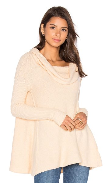 Free People Strawberry Fields Sweater in cream - 52% cotton 25% poly 15% acrylic 5% wool 3% spandex. Hand...