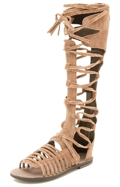 Free People Sun seeker gladiator sandals in honey whiskey
