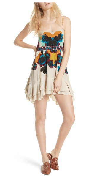FREE PEOPLE sweet lucy slipdress - A ruffled hem highlights the flirtatious movement of a...
