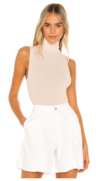 Free People take on the turtle bodysuit in sand