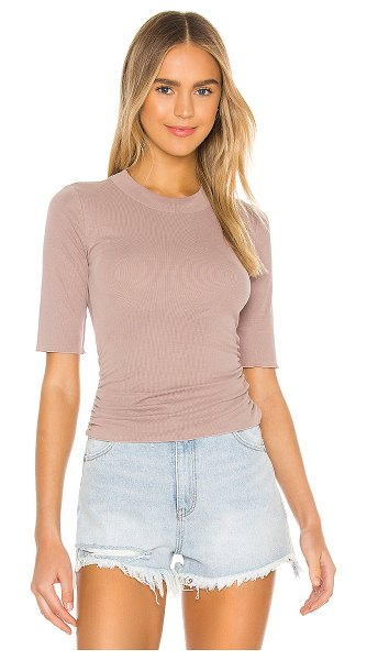 Free People talk to me tee in cocoa