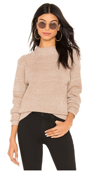 Free People Too Good Pullover in beige - Cotton blend. Hand wash cold. Knit fabric. Ribbed trim....