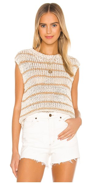 Free People wave after wave top in neutral combo